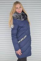 Акция Модная зимняя куртка пальто на синтепоне. Новинка 38, 40 44, 46