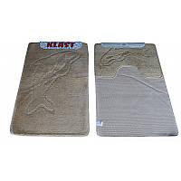 Набор ковриков в ванную 60*150 см.
