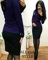 Стильный женский костюм у-52KO432