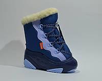 Сноубутсы дутики для мальчика DEMAR.SNOW MAR синие, 20-27