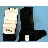 Захист стоп/накладки для ніг тхеквондо 1799 (фути для тхеквондо), 2 кольори: розмір M-XXL