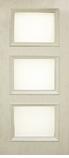 Двери межкомнатные экошпон Флоренция 1.3 стекло сатин, глянцевое с одной стороны