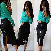 Женская юбка миди о-2JU166, фото 1