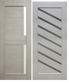 Двери межкомнатные экошпон Амелия, Паула