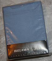 Простынь на резинке махровая на кровать. Размер 90*200