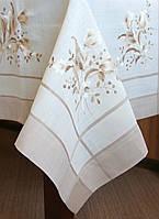 Изысканная скатерть- салфетка на стол 85*85 см