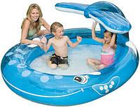 Детский надувной бассейн Intex 57435 – «Весёлый кит», фото 1