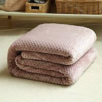 Бамбуковая простынь на двуспальную кровать. 180*220. Цвет- нежно розовый