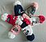 Шапка зимняя детская с ушками м 7046 р 3-10 лет, фото 2