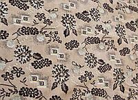"Дивандек- накидка на диван,  гобелен ковровый ""Цветочки"" 160*220."