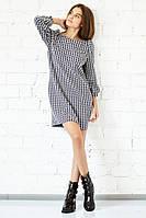 Яркое модное короткое платье