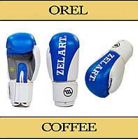 Боксерские перчатки ZELART 8 oz, 10 oz, 12 oz
