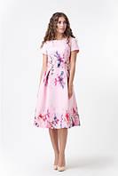 Нарядное платья с цветами RicaMare