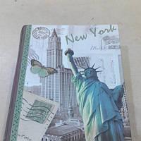 Книга-шкатулка Нью-Йорк 16*12*4 см