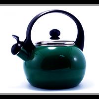 Чайник со свистком газовый Zauberg 132/2.5L, металлический чайник 2,5л, чайник со свистком для газовой плиты