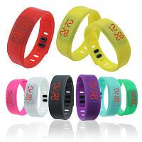 Часы браслет 003, фитнес-браслет, спортивные часы на силиконовом ремешке, электро часы