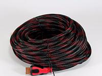Кабель переходник HDMI-HDMI (V1.4) 20м, шнур Hdmi to Hdmi 20м для подключения техники, адаптер кабель hdmi