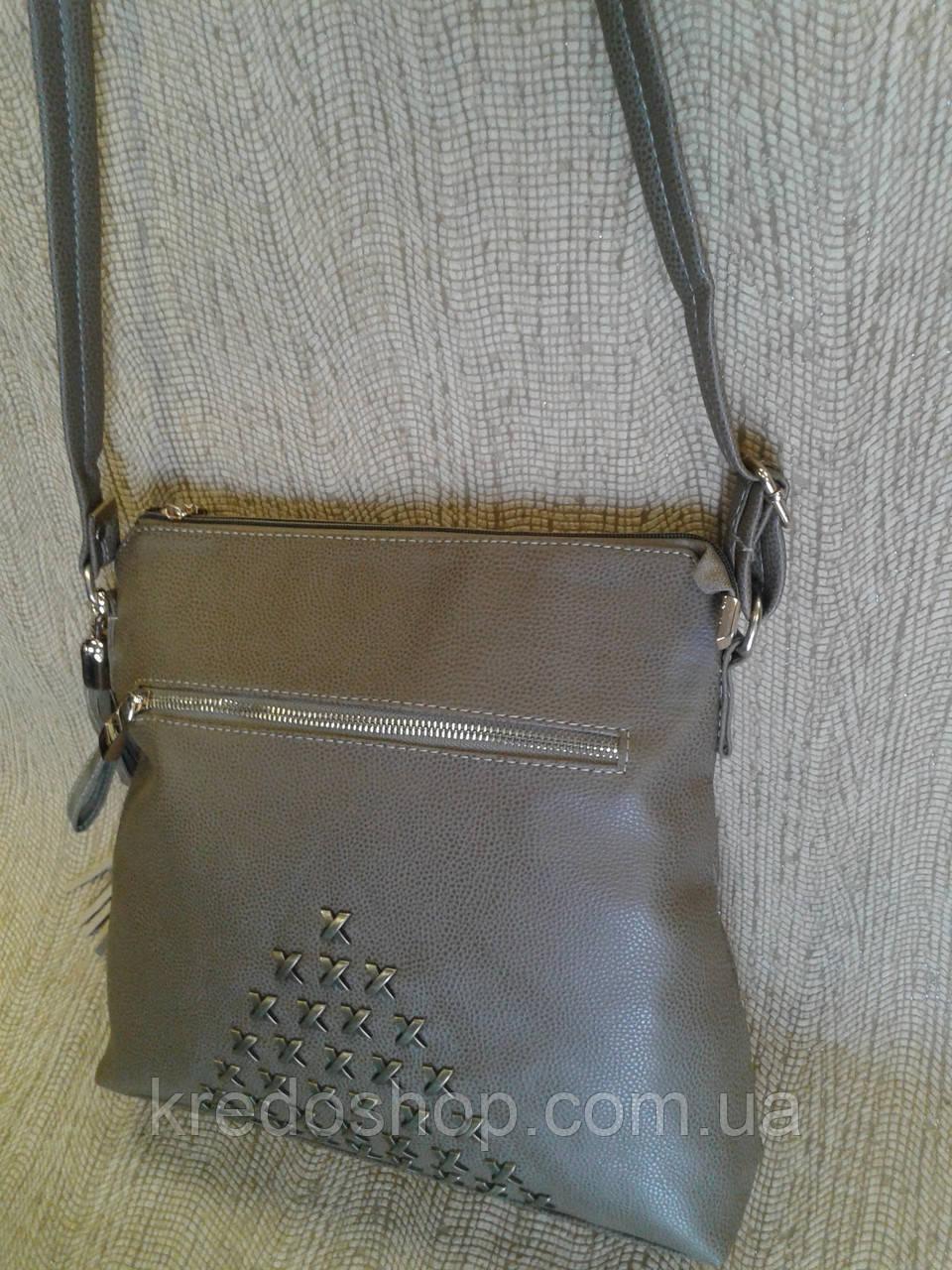 9fad0232f7b6 Сумка клатч серо-коричневый стильный молодежный (Турция), цена 380 грн.,  купить в Кривом Роге — Prom.ua (ID#583706944)