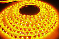 Лента светодиодная  SMD 5050-60 led, желтая
