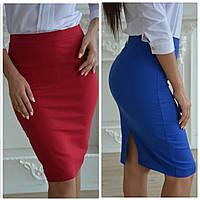 Женская юбка высокой посадки