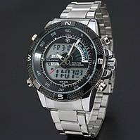 Металлические мужские часы механика