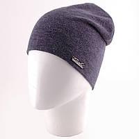 Трикотажная шапка чулок с логотипом в цветах n-12GO288