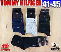 """Носки мужские """"TOMMY HILFIGER"""" Турция  демисезонные 41-45р ассорти   NMD-590"""