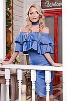 Платье KP-5932 Джинс