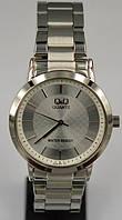 Часы Q&Q QA38J010Y женские водозащитные 3 Bar диаметр корпуса 34 мм Серебристый, Серебристый, Серебристый