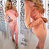 Женский замшевый костюм (лосины и кофта) a-27KO547