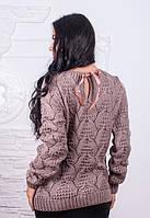 Стильный женский свитер Бант у-61KF517