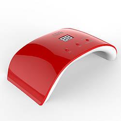 Лампа для маникюра SUN 9SE, 24W Red. Гибридная (UV+LED).