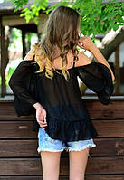 Модная женская блуза е-61BL323