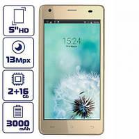 Смартфон Cubot Echo 2/16 gb Gold 3000 мАч MT6580