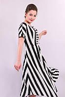 Платье Фортуна из стрейчевого штапеля