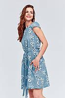 Платье СABRERA голубой цвет