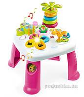 Детский игровой стол Cotoons Цветочек розовый Smoby 211170