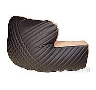Подушка Ergo Lounge комбинированная экокожа и замш