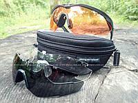 Очки баллистические REVISION StingerHawk Shooters стандарт Оправа черная, фото 1