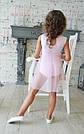 Купальник-туника светло-розовая для танцев и балета, фото 2
