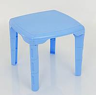Детский игровой столик голубой