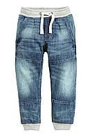 Детские джинсовые джоггеры для мальчика 1,5-2 года, фото 1