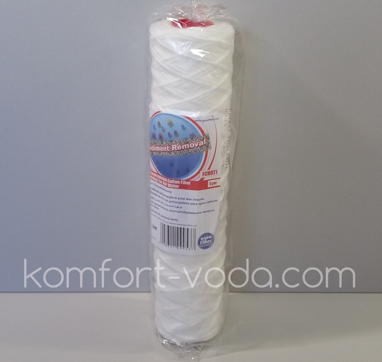 """Полипропиленовый нитный картридж для горячей воды Aquafilter FCHOT1, 10"""""""