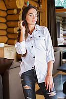 Модная женская рубашка у-31BL21, фото 1
