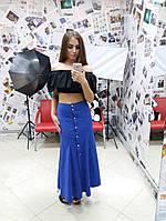 Длинная женская юбка у-10131, фото 1