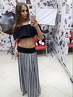 Длинная женская юбка в ассортименте к-10132, фото 1