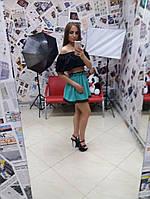 Женская короткая футболка у-10FU14, фото 1
