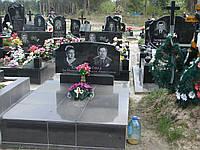 Памятник  надгробный киев черный Стелла-С4 120х60х8..