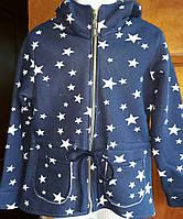 Парка звезды с капюшоном  р.122-152