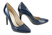 Женские туфли синий цвет
